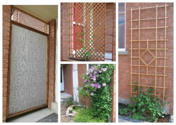 Trellis and Privacy Screen Collage 2
